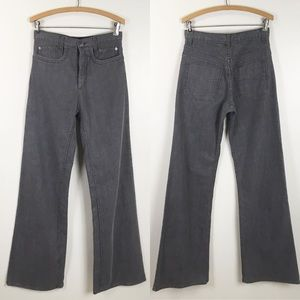 grey ant Jeans - GREY ANT | high waisted wide leg gray denim